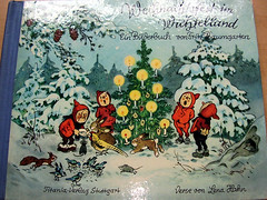 Weihnachtsfest im Wichtelland (*Pppilottchen aka dollily*) Tags: christmas weihnachten german deutsch dwarfs wichtel kinderbuch fritzbaumgarten wichtelland germanchildrensbook deutscheskinderbuch