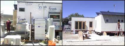 Santa Clara University Solar Decathlon Home Underconstruction