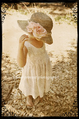 Clara (christie_in_cal) Tags: portrait flower texture girl hat forest vintage toddler country straw naturallightkids nicholevan thegoldenmermaid