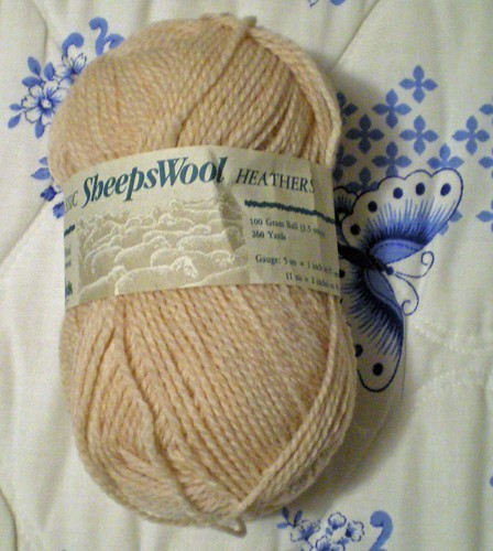 Bisque SheepsWool Heathers