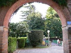 Vicenza - Ingresso Giardini Salvi (Luigi Strano) Tags: italien italy travels holidays europa europe italia trips italie vacanze vicenza veneto