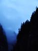 Mountain Ravine (»alex«) Tags: blue trees cloud mountains switzerland ravine gorge chasm jungfrau stechelberg
