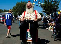 Santa in August