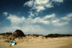 Barca solitaria (fabilly74) Tags: beach sabaudia ortoneffect platinumheartaward thebestofgodscreation spiritofphotography discoveryphotos fabcap nikonflickraward