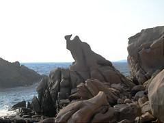 Figure rocheuse du Capu di Zivia