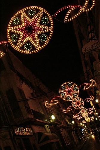Calle Nueva en Navidad