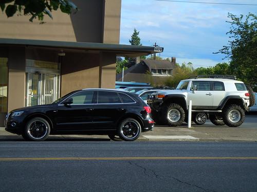 Audi Q Quattro Toyota FJ Cruiser Irok Super Swampers Inch - Fj audi