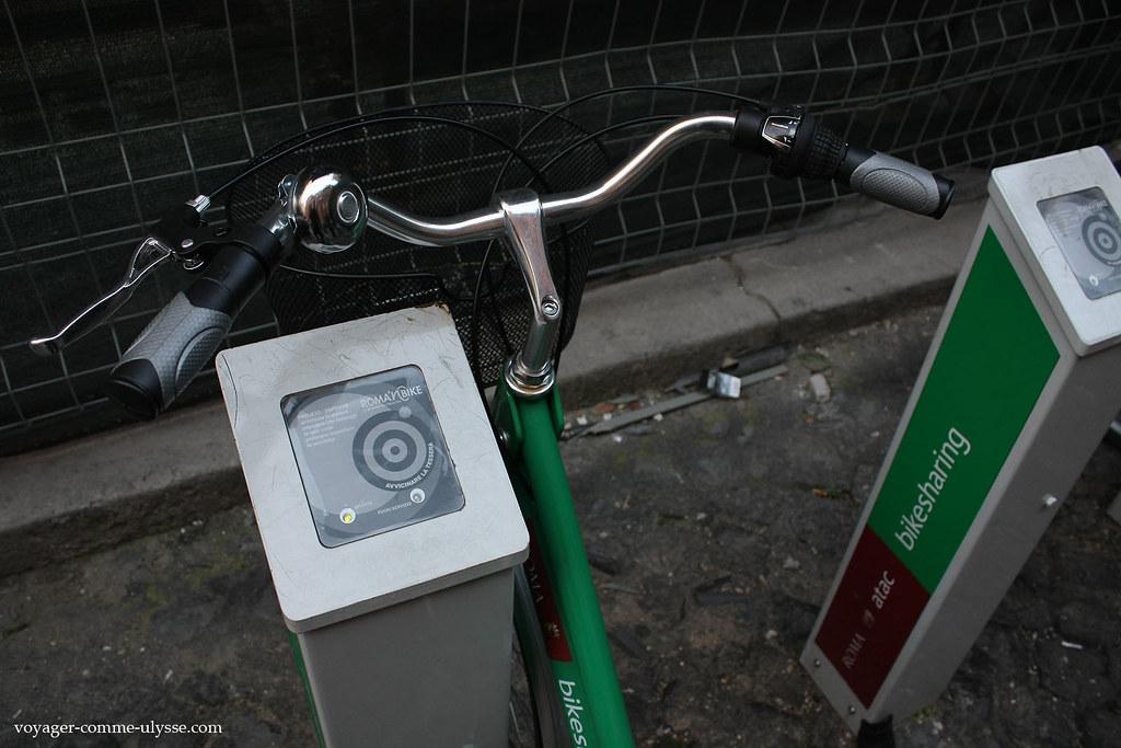 Même principe que pour les vélibs parisiens