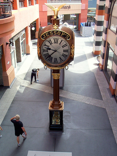 Historic Jessop's Clock, Horton Plaza, San Diego, California