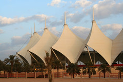 King Fahad's stadium (Salem_photos) Tags: football king desert stadium soccer kingdom tent east arab saudi arabia middle riyadh fahad       gettyimagesmeandafrica1
