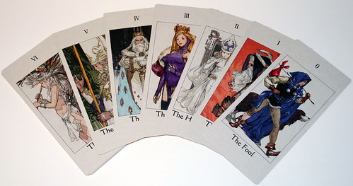 Tactics Ogre: Let Us Cling Together for PSP - Tarot Cards