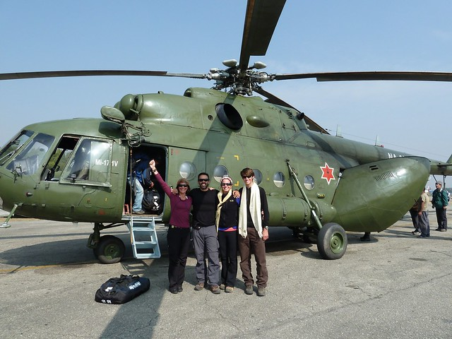 Nepal Army Russian MI-17iv Helicopter