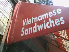 Nickys Vietnamese Sandwich