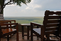 Mara Serena Safari Lodge Patio