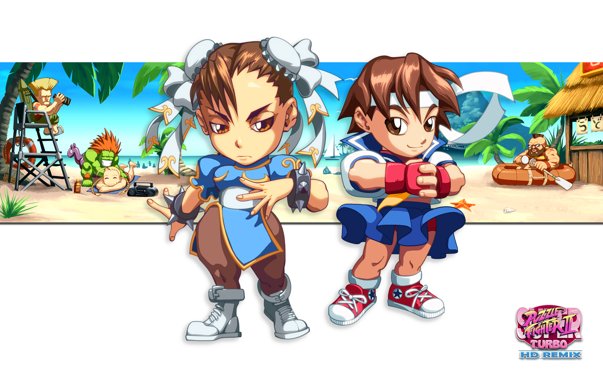 New Desktop Wallpapers w/ Chun-Li and Sakura