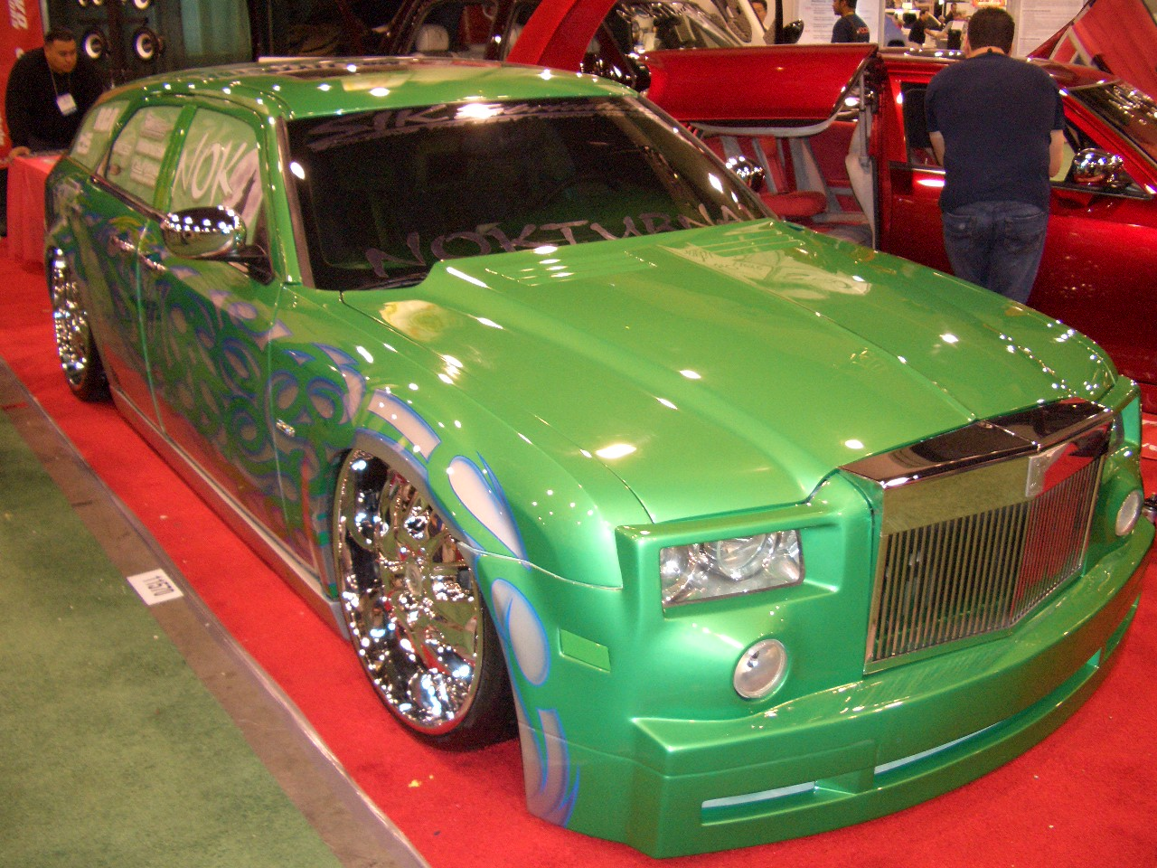 custom cars and rims