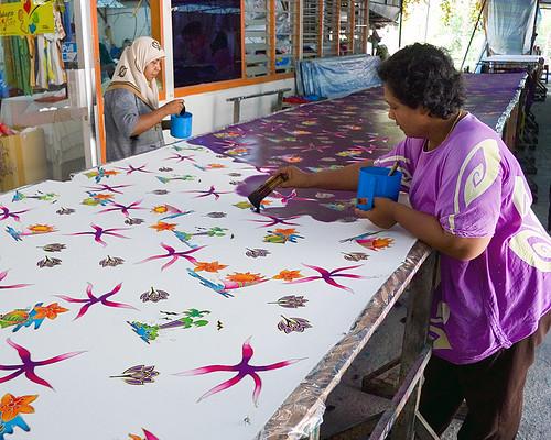 Batik Manufacturing - Pulau Penang, Malaysia