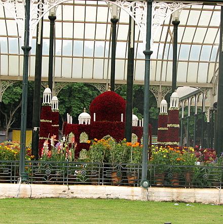floral taj mahal lalbagh 090807