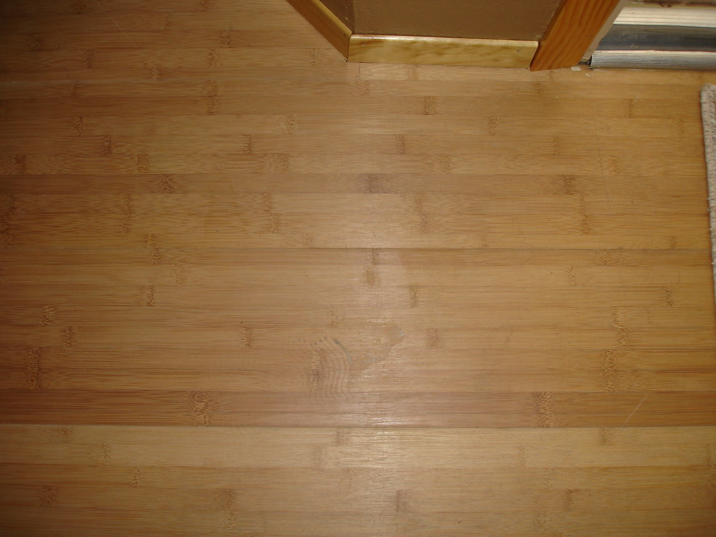 bamboo flooring from Ikea