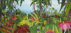 Jungle Mural at Cronulla Library