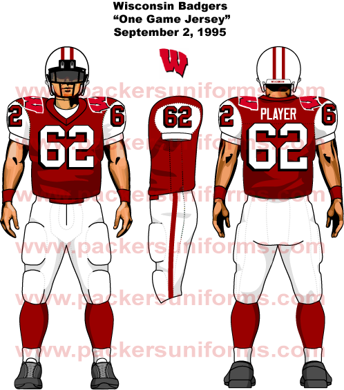 new product 8819f a0204 Wisconsin Badger Football Jersey - Sports Logo News - Chris ...