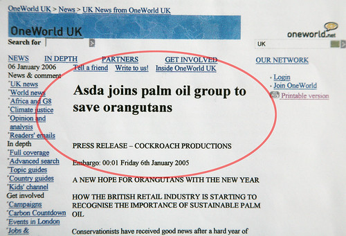 ASDA joins the RSPO
