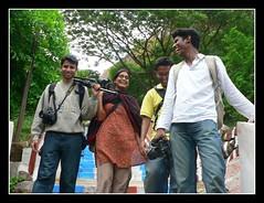 Happy Bunch of Photographers after a successful shoot (Sr!v!dya) Tags: bws ramanagaram