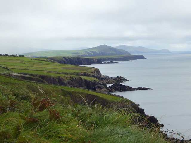 view from dunbeg fort
