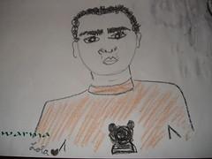 Eje joi io (El Complejo) Tags: punk retrato io joi dibujos mantel eje crayolas pablonaval tatipostre 1o1a