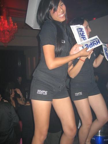 table dancing girls :)