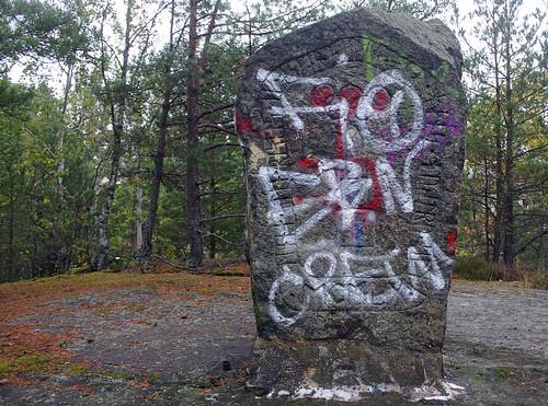 Modern Rune Stone