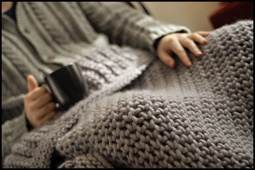 Merino Chunky Throw