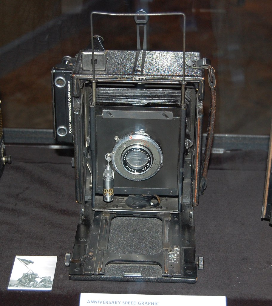 Anniversary  Speed  Graphic  Camera - Eastman  House
