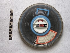 Magnetic tape in a box
