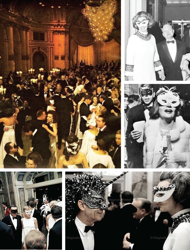 Capote's Black and White Ball
