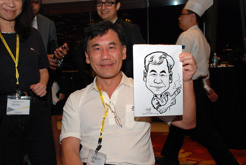 caricature live sketching for 2010 Asia Pacific Tax Symposium and Transfer Pricing Forum (Ernst & Young) - 10