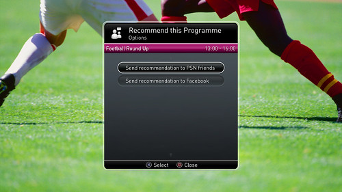 PlayTV: Recommend (UK)