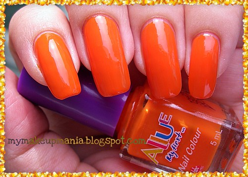 Allue in Neon Orange