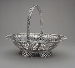 Samuel Cornell silver basket