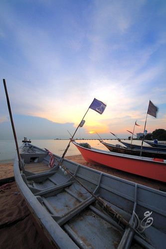 Sunset @ Fishing Village, Pantai Kundur, Malacca