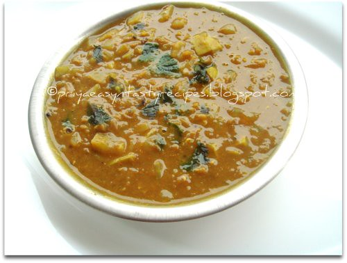 Lauki Anardana Dal Curry