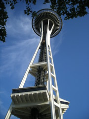 The Space Needle in Seattle, WA