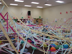 Our handiwork (radiant star) Tags: balloons band streamers tradition seniors classof2007 bandroom bandtradition