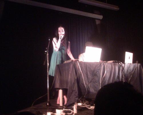Caroline Lufkin at KLPac 1