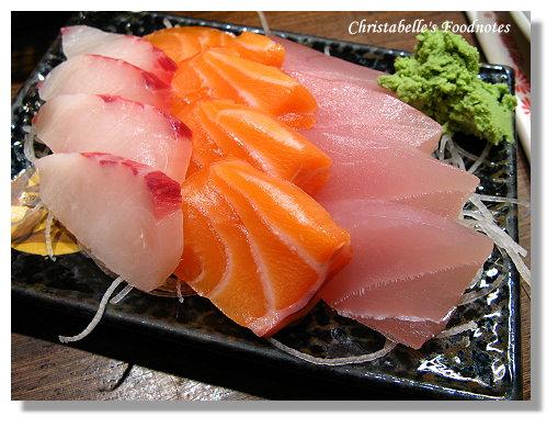 五分埔生魚片綜合生魚片