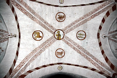 signs of the zodiac (claude05) Tags: painting arch ceiling mysterious zodiac arcane parishchurch hochsauerland stpeterandpaul signofthezodiac wormbach