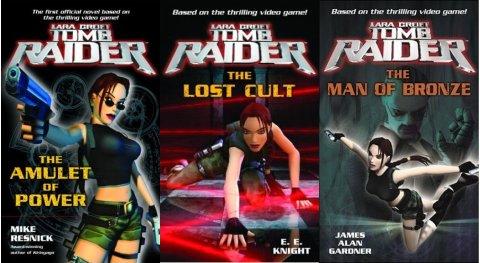 Novelas de Tomb Raider