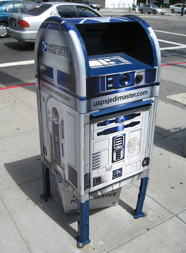 R2D2 Jedi Shipping & Mailing Master