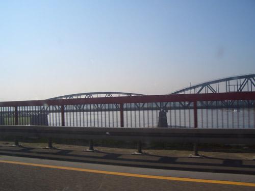 Crossing the Rhein
