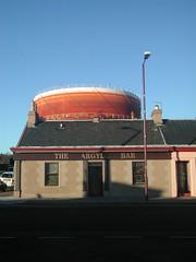 Argyll Bar and Gasometer, Helensburgh